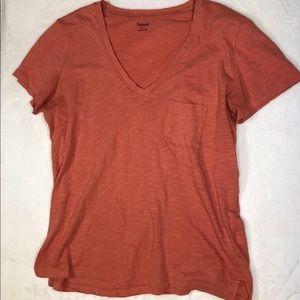 Madewell v-neck t-shirt